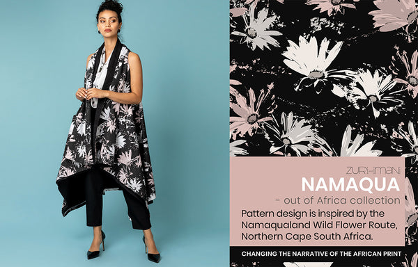 Surface Pattern Textile Design-Namaqua-Made in Africa-ZURI and IMANI