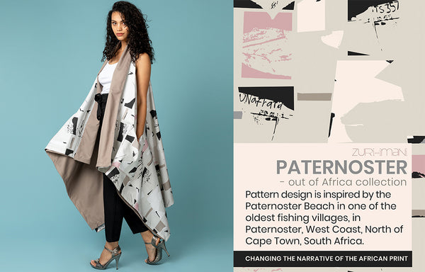 Surface Pattern Textile Design-Paternoster-Made in Africa-ZURI and IMANI