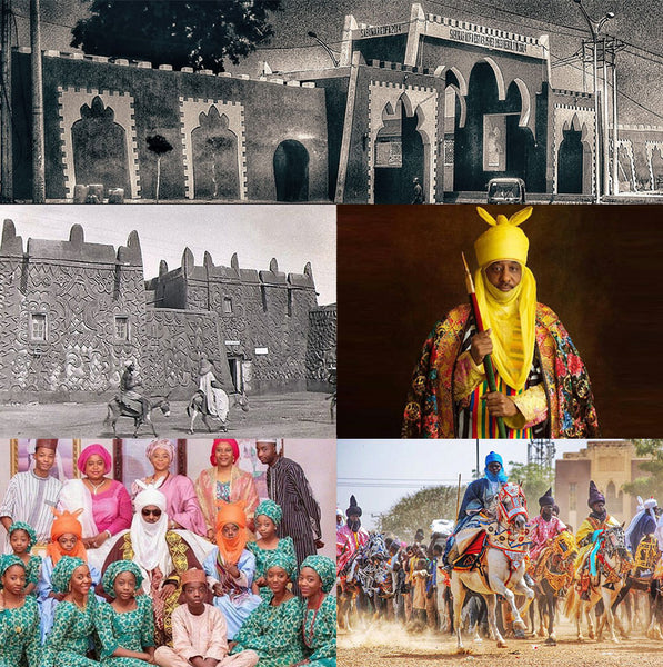 emir of kano ancient wall of kano durbar festival