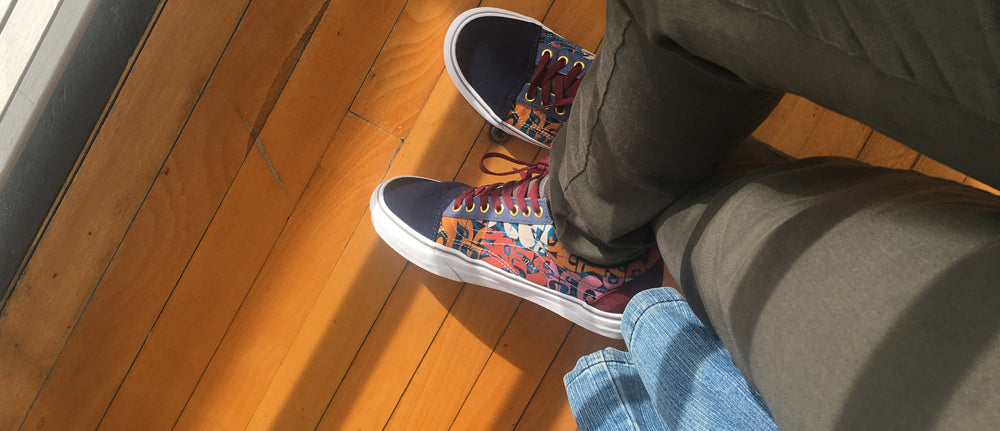 "VANS ""Off The Wall"" Customs 