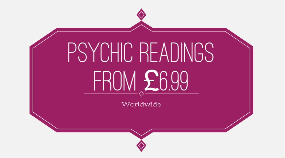 Psychic readings from £6.99