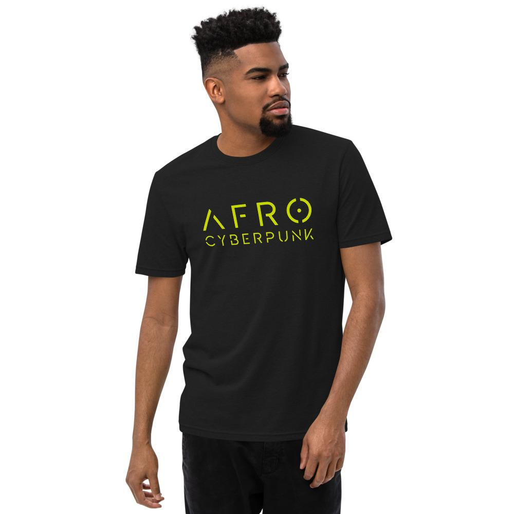 AFRO CYBERPUNK 2.0 recycled t-shirt Embattled Clothing Black S