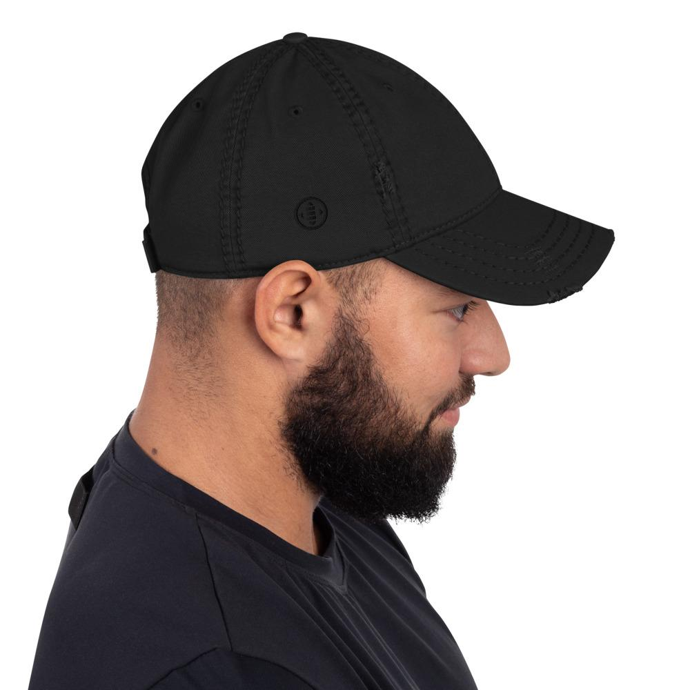 EMBATTLED IC0021 Distressed Dad Hat Embattled Clothing Black