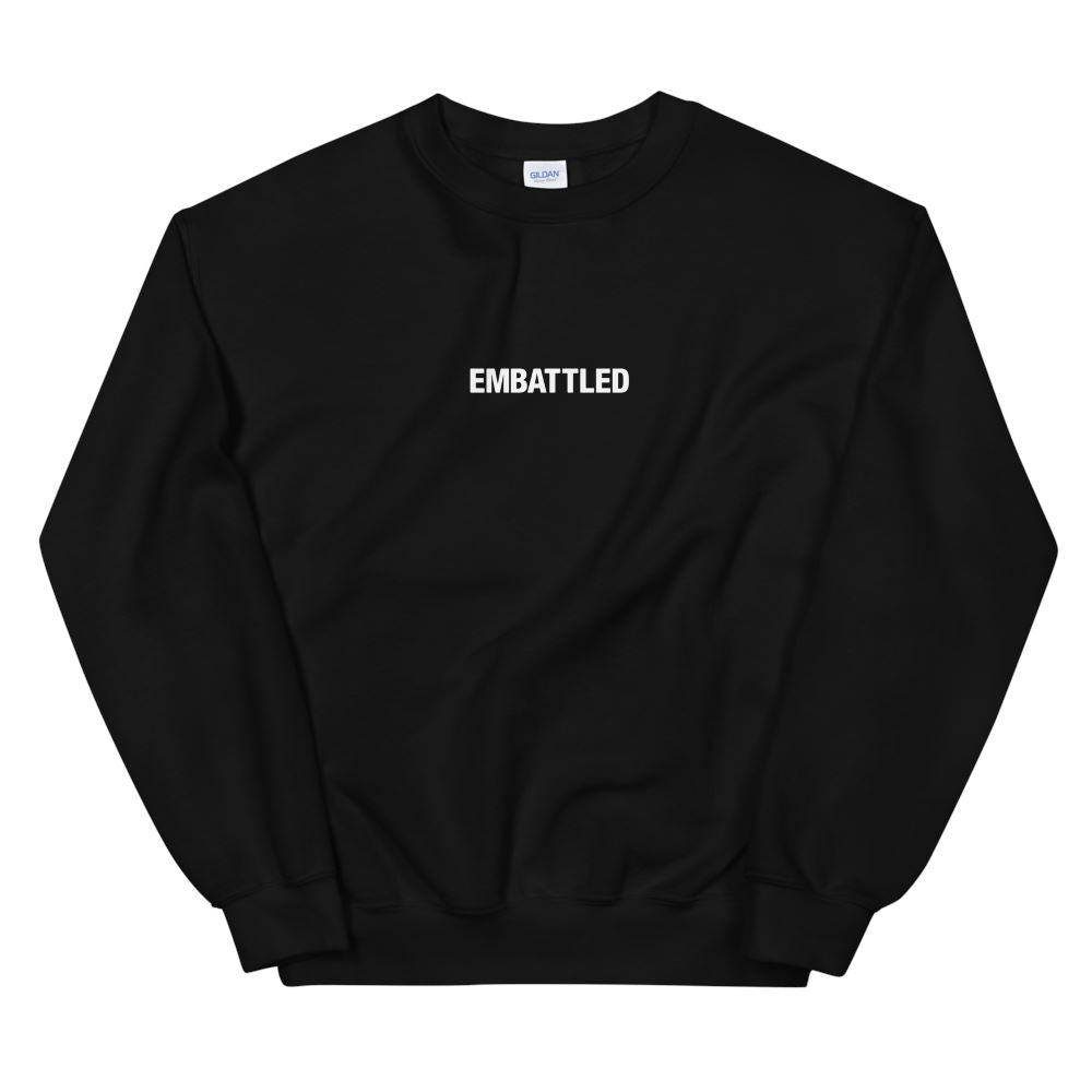 EMBATTLED ORIGINAL ICON Sweatshirt Embattled Clothing Black S