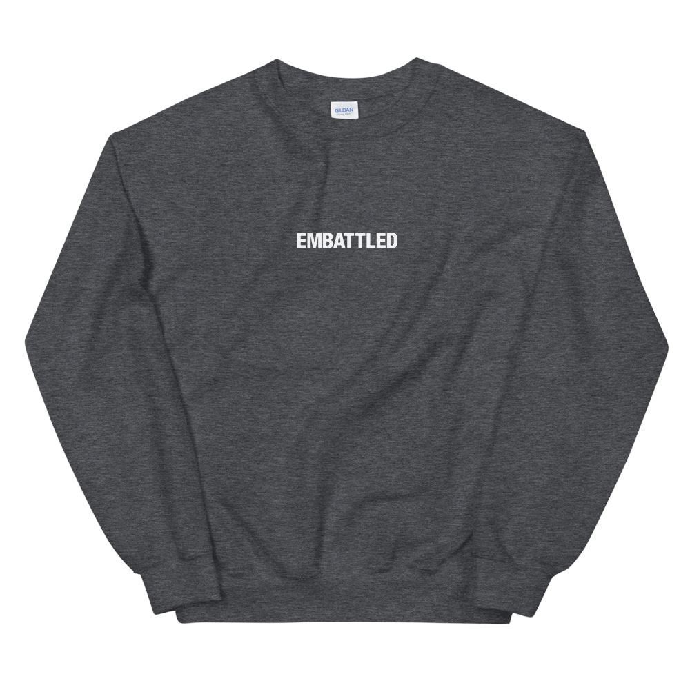 EMBATTLED ORIGINAL ICON Sweatshirt Embattled Clothing Dark Heather S