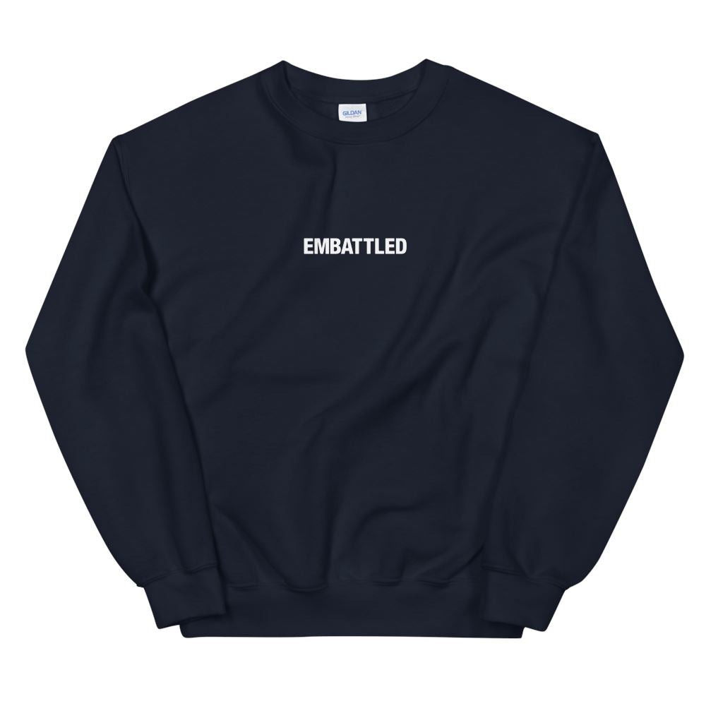EMBATTLED ORIGINAL ICON Sweatshirt Embattled Clothing Navy S