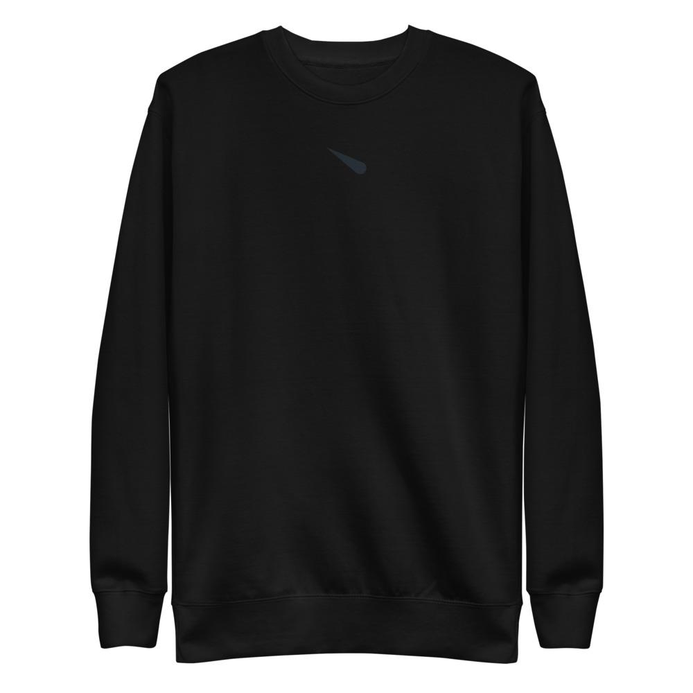 METEORYTE ICON S1 Fleece Pullover Embattled Clothing Black S