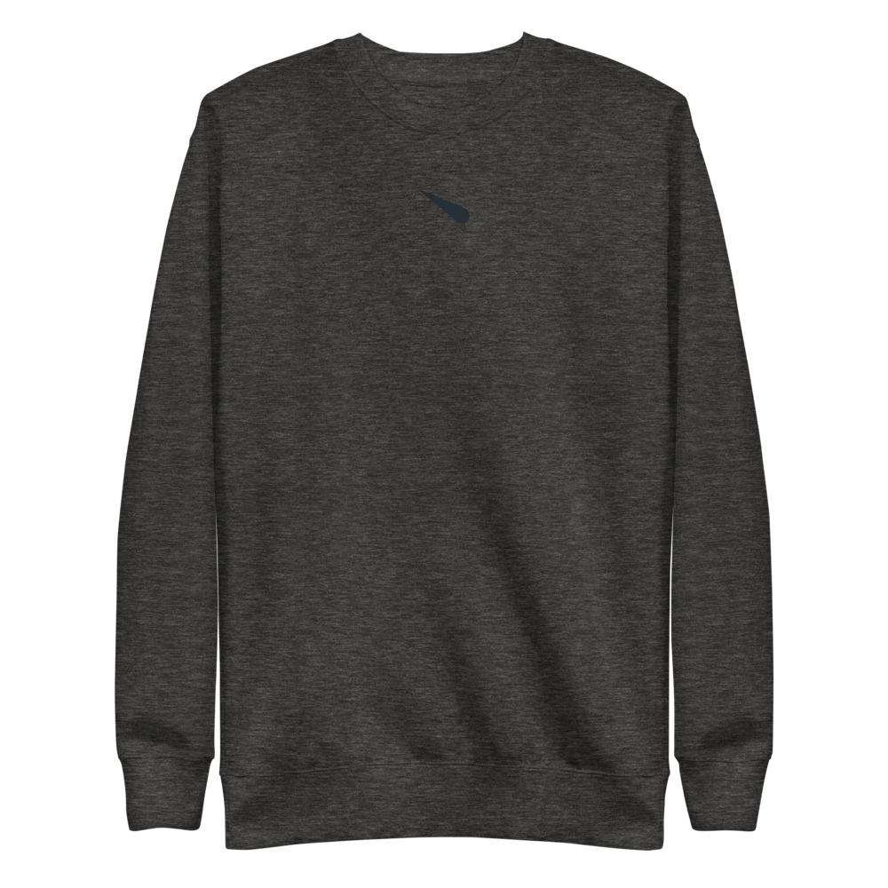 METEORYTE ICON S1 Fleece Pullover Embattled Clothing Charcoal Heather S