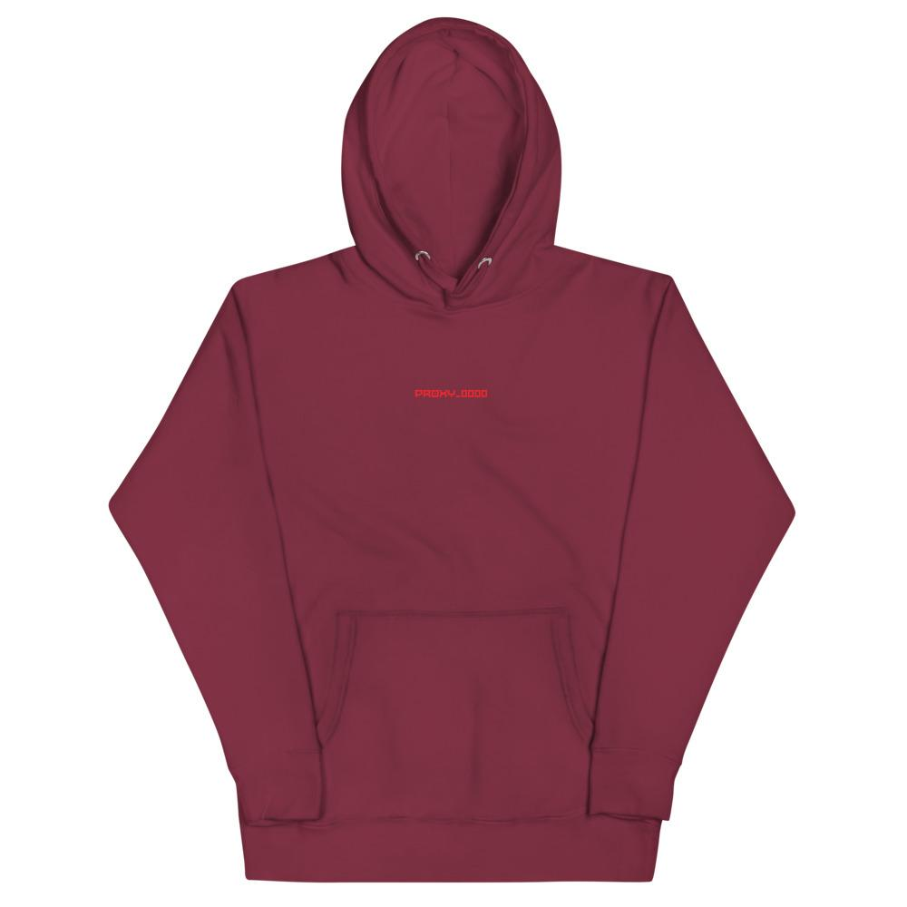 PROXY_0000 EMBATTLED CREW LEADER Hoodie Embattled Clothing Maroon S