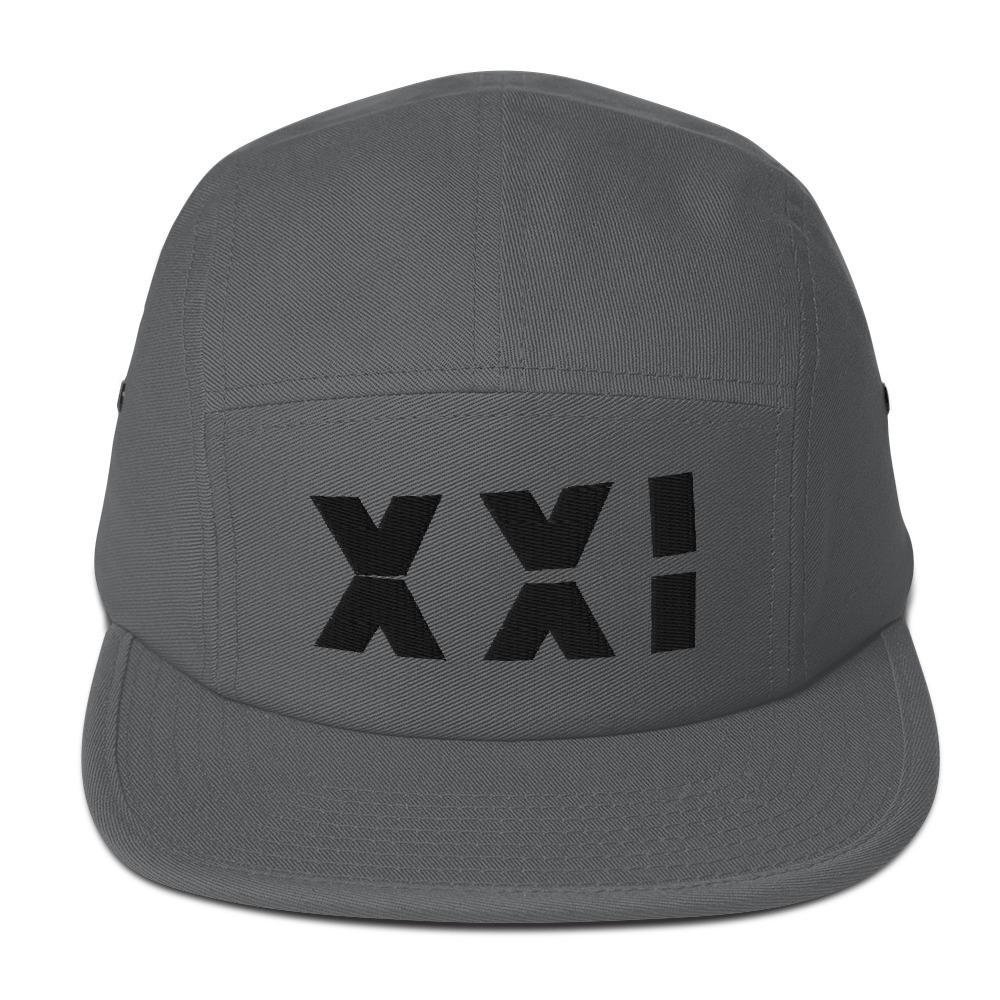 SAMURAI XXI 4.0 Five Panel Camper Embattled Clothing Charcoal gray