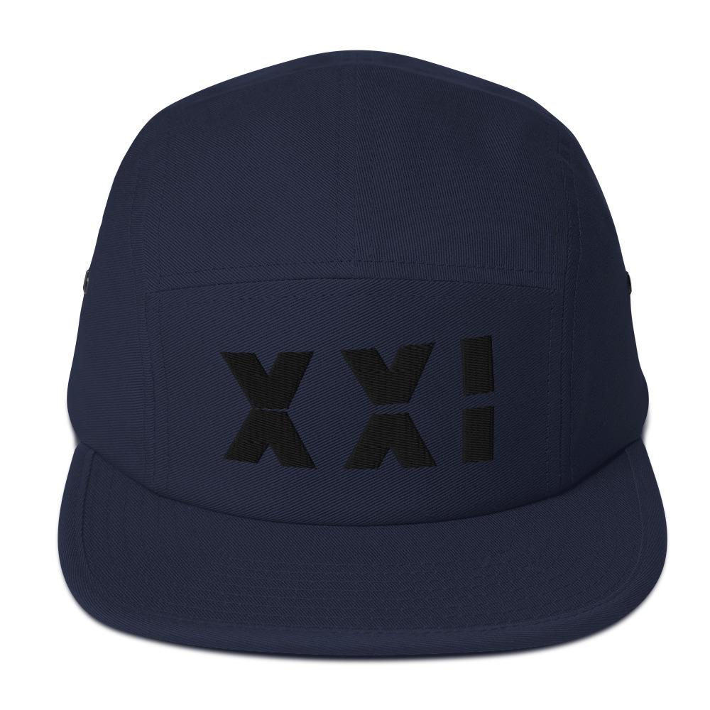 SAMURAI XXI 4.0 Five Panel Camper Embattled Clothing Navy blue