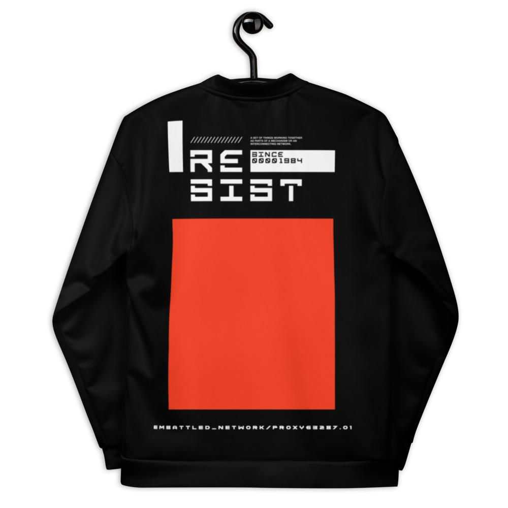 THE RESISTANCE Bomber Jacket Embattled Clothing XS