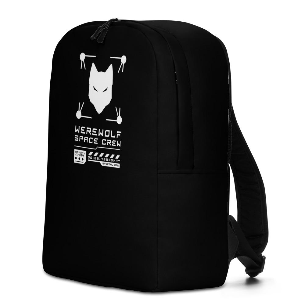 WEREWOLF CREW Minimalist Backpack Embattled Clothing