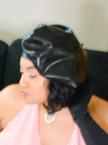 Latex Beret Hat