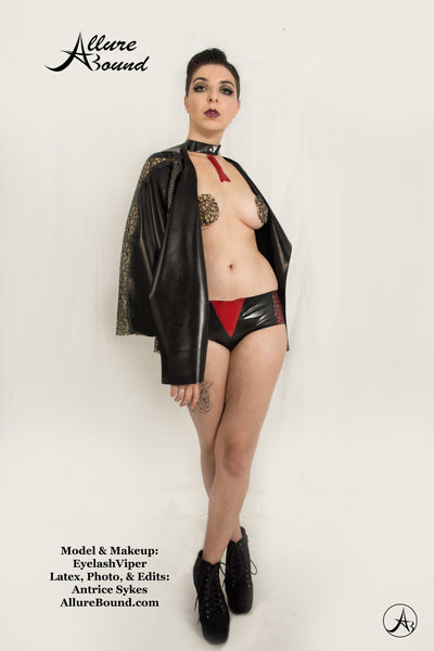 Black Net Latex Pasties *Limited Edition*