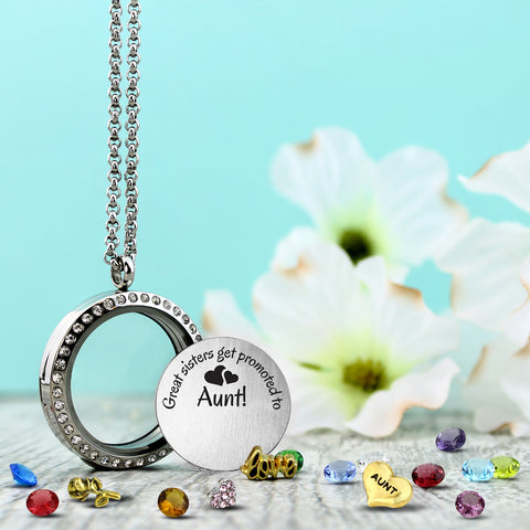 Great sisters get promoted to aunt sister jewelry gifts