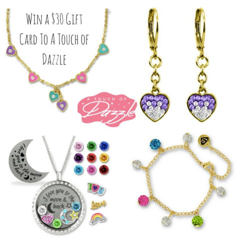 Win A $30 Gift Card to A Touch of Dazzle