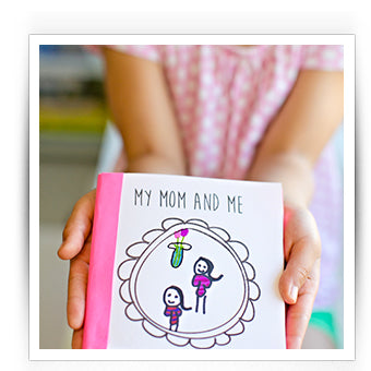 DIY Kids Crafts Mothers Day Present
