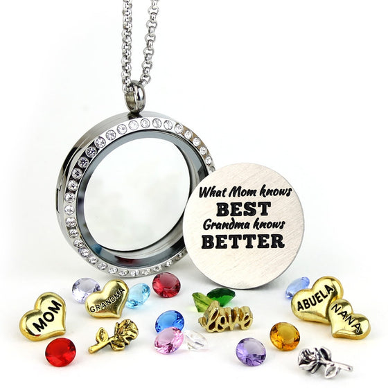 Mom & Grandma Best Locket