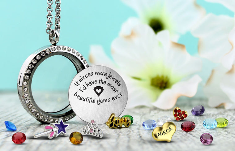 Nieces are Jewels Charm Necklace