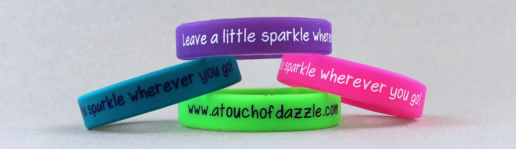 Wristband Bracelet - Leave a little sparkle wherever you go!  - Kids Jewelry A Touch of Dazzle Girls Jewelry