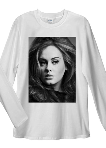 Adele Long Sleeve T-Shirts - Idea Is Good