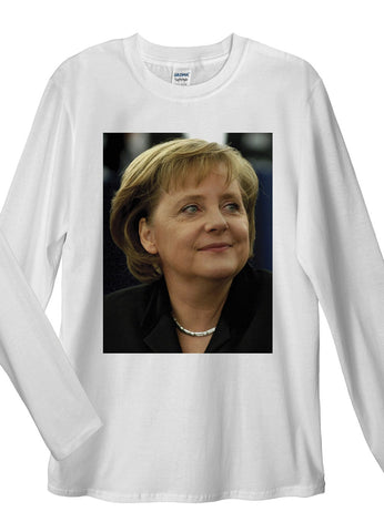 Angela Merkel Long Sleeve T-Shirts - Idea Is Good