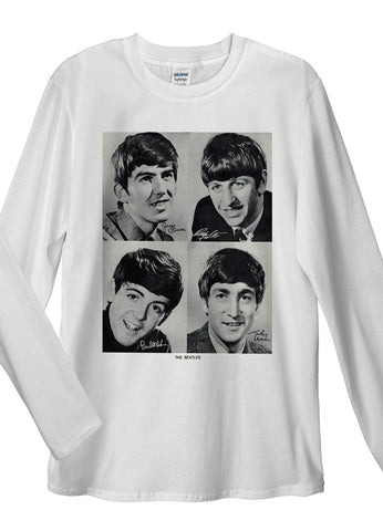 Beatles Long Sleeve T-Shirts - Idea Is Good