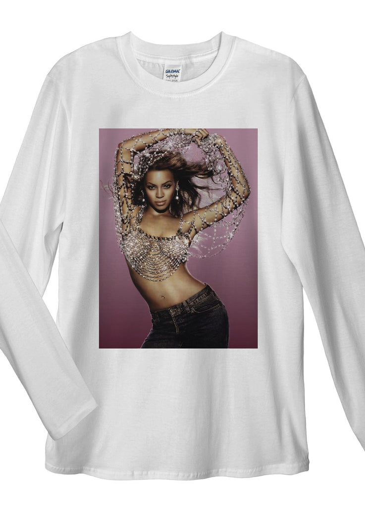 Beyonce Knowles Long Sleeve T-Shirts - Idea Is Good - 2