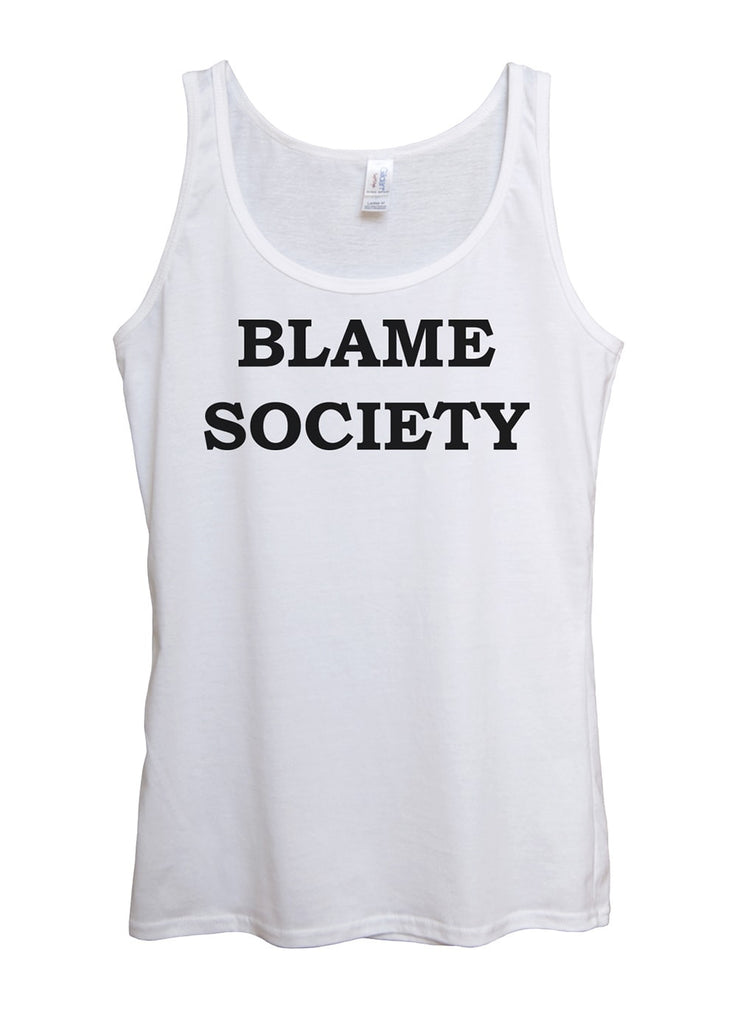 Blame Society Tank Top - Idea Is Good