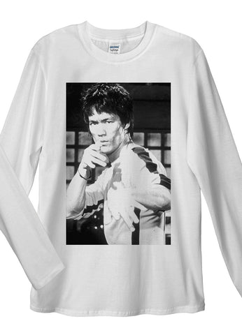Bruce Lee Long Sleeve T-Shirts - Idea Is Good