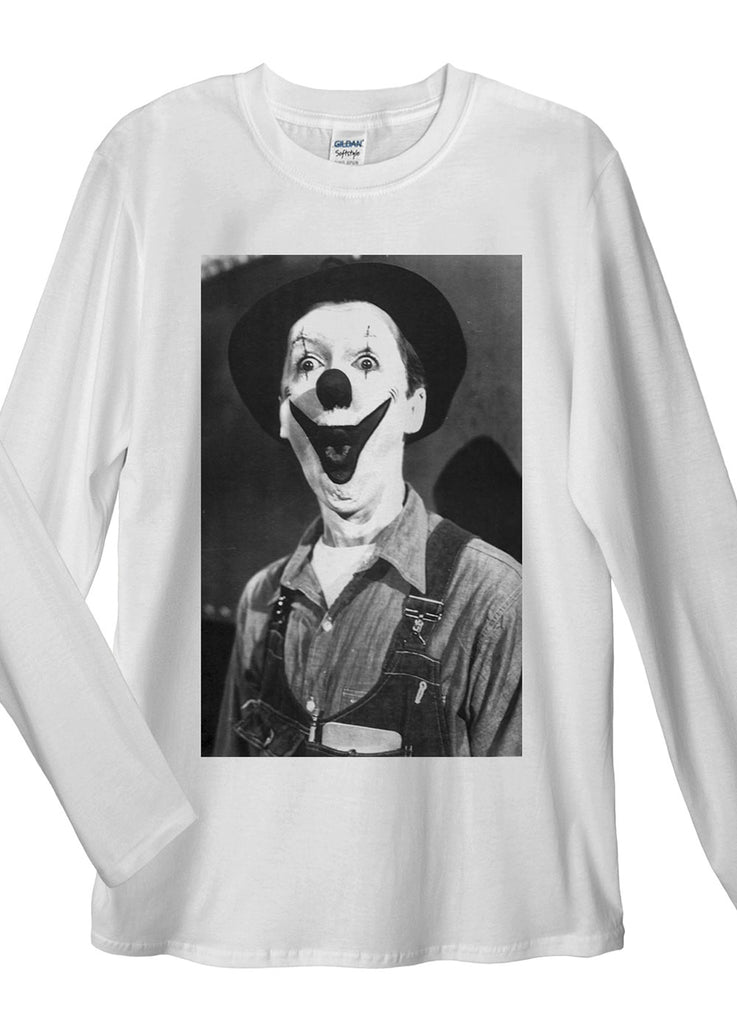 Creepy Clown Long Sleeve T-Shirt - Idea Is Good