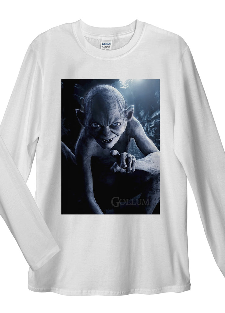 Gollum Long Sleeve T-Shirts - Idea Is Good