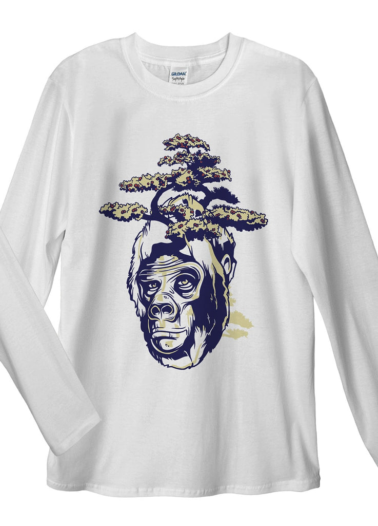Gorilla Tree Long Sleeve T-Shirt - Idea Is Good