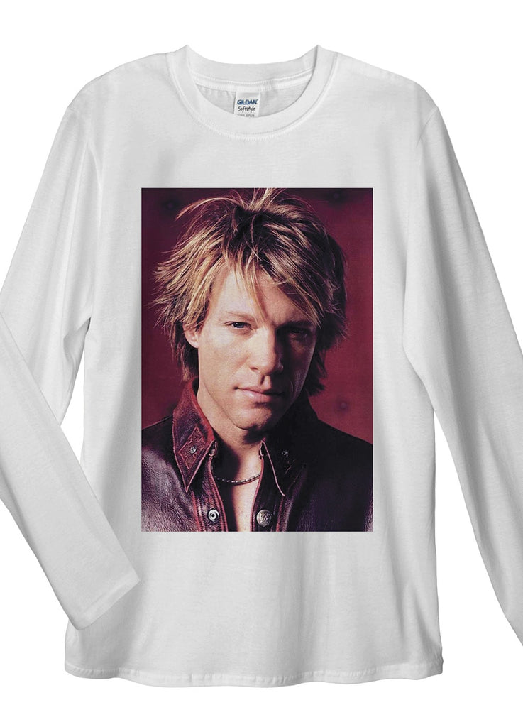 Jon Bon Jovi Long Sleeve T-Shirt - Idea Is Good