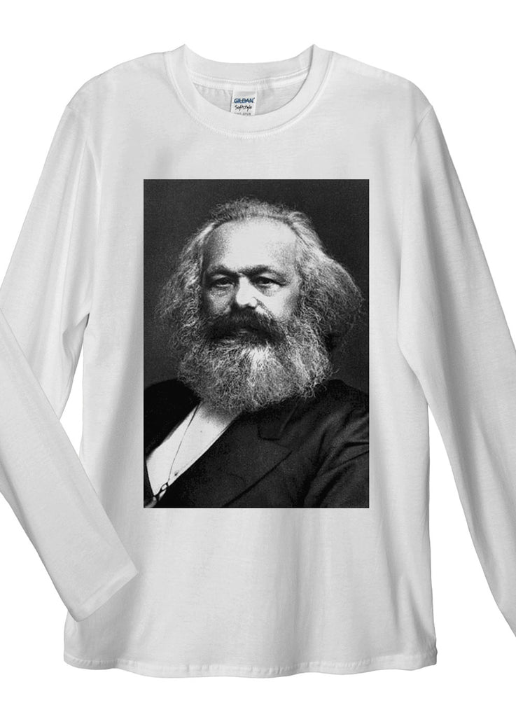 Karl Marx Long Sleeve T-Shirt - Idea Is Good