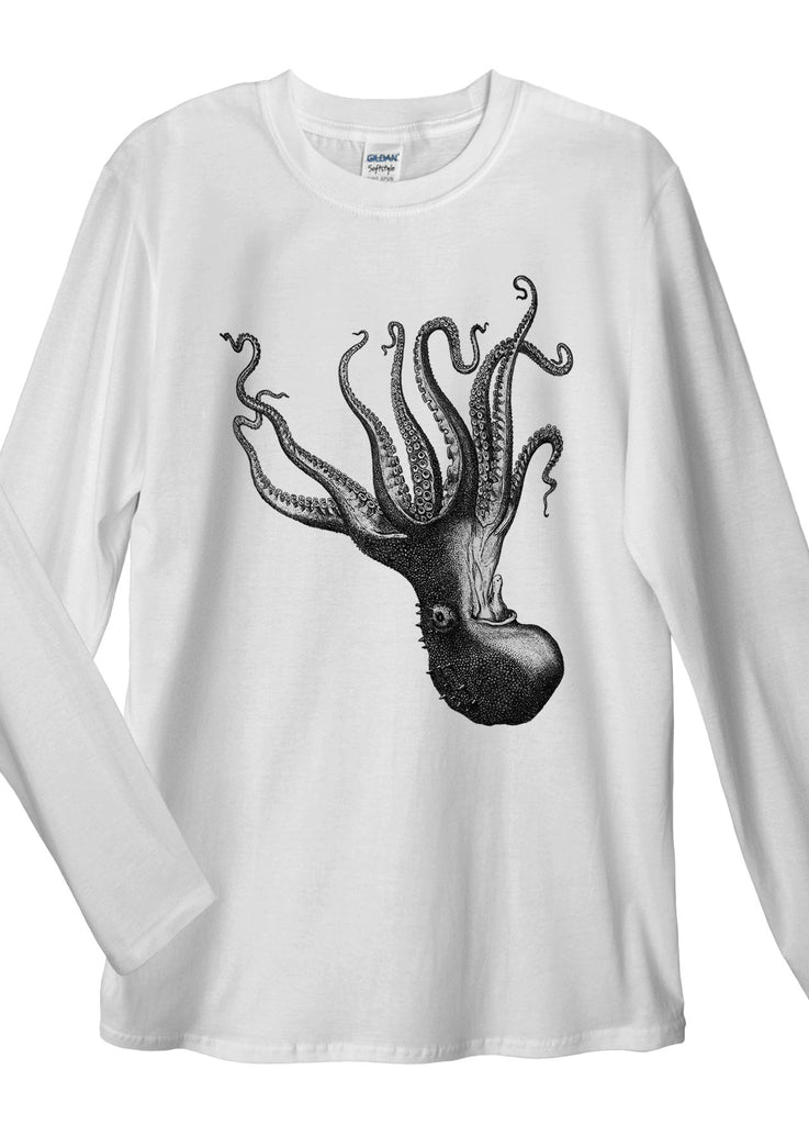 Octopus Long Sleeve T-Shirt - Idea Is Good