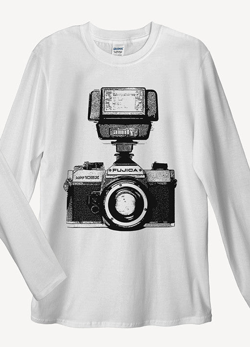 Retro Camera Long Sleeve T-Shirt - Idea Is Good