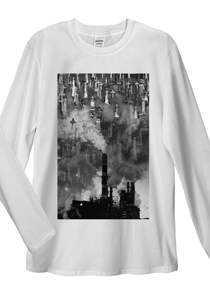 Pollution and Graves Long Sleeve T-Shirt - Idea Is Good