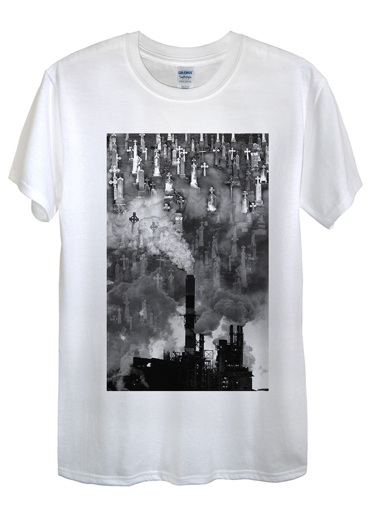 Pollution and Graves T-Shirts - Idea Is Good - 1