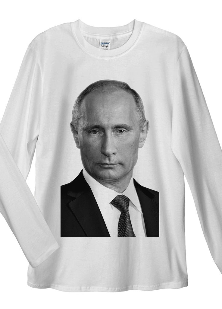 Vladimir Putin Long Sleeve T-Shirt - Idea Is Good