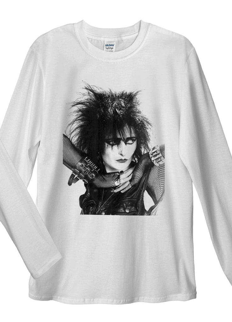 Siouxsie Sioux Gothic Long Sleeve T-Shirt - Idea Is Good