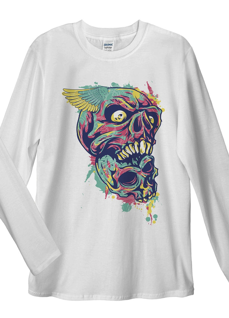 Eat Some Skull Long Sleeve T-Shirt - Idea Is Good