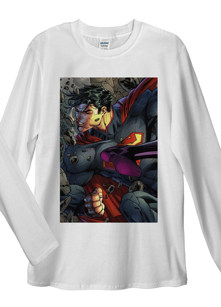 Superman VS Wonder Woman Long Sleeve T-Shirt - Idea Is Good