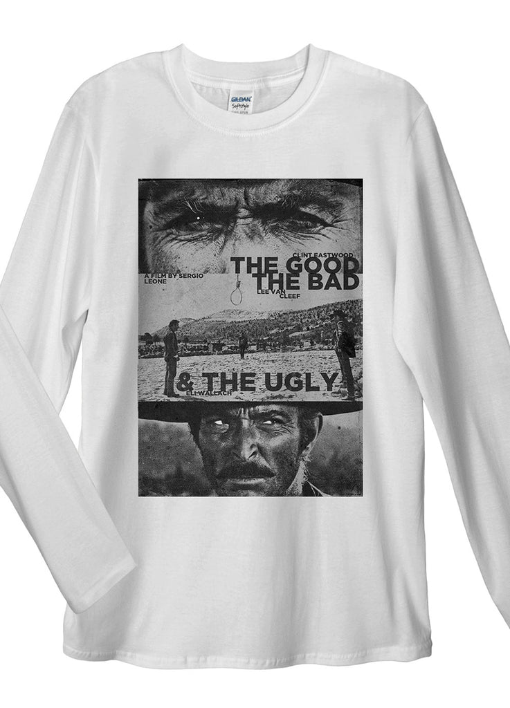 The Good, The Bad and The Ugly Long Sleeve T-Shirt - Idea Is Good