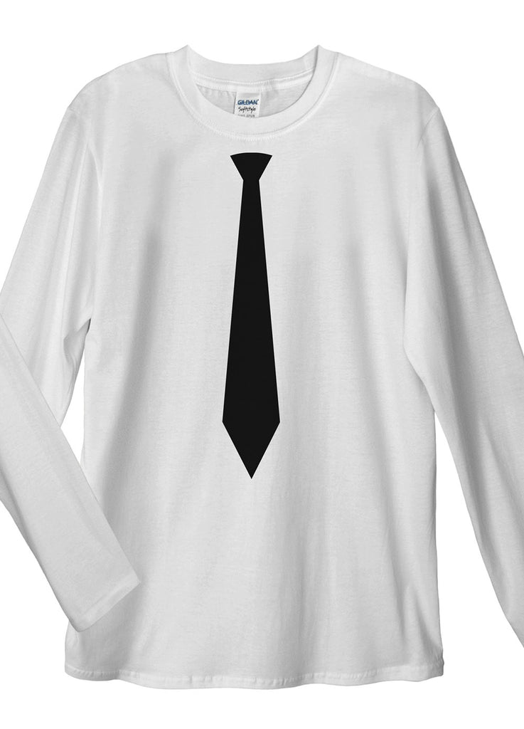 Black Tie Long Sleeve T-Shirt - Idea Is Good