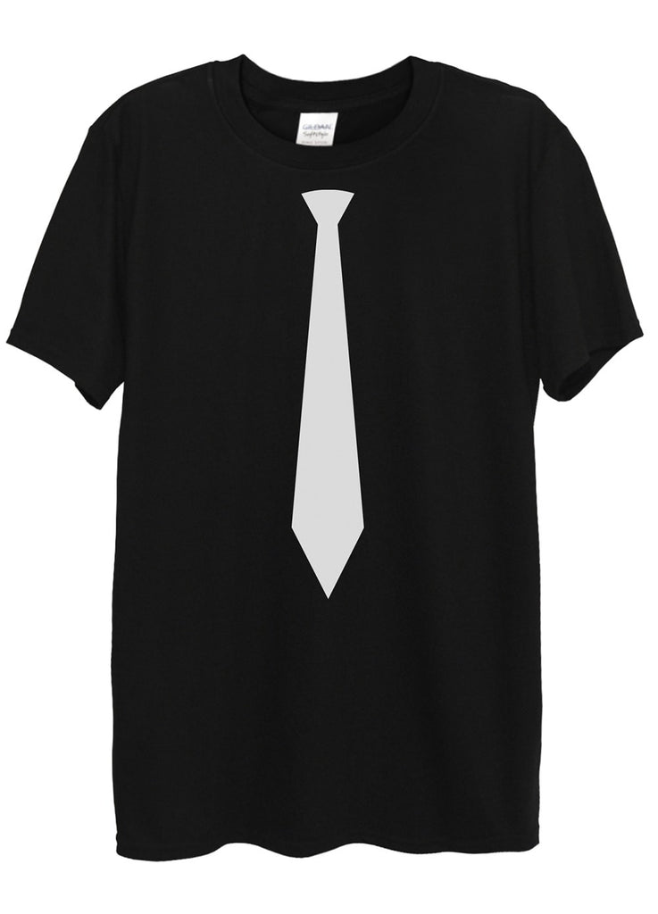 Tie Black or White T-Shirts - Idea Is Good - 1