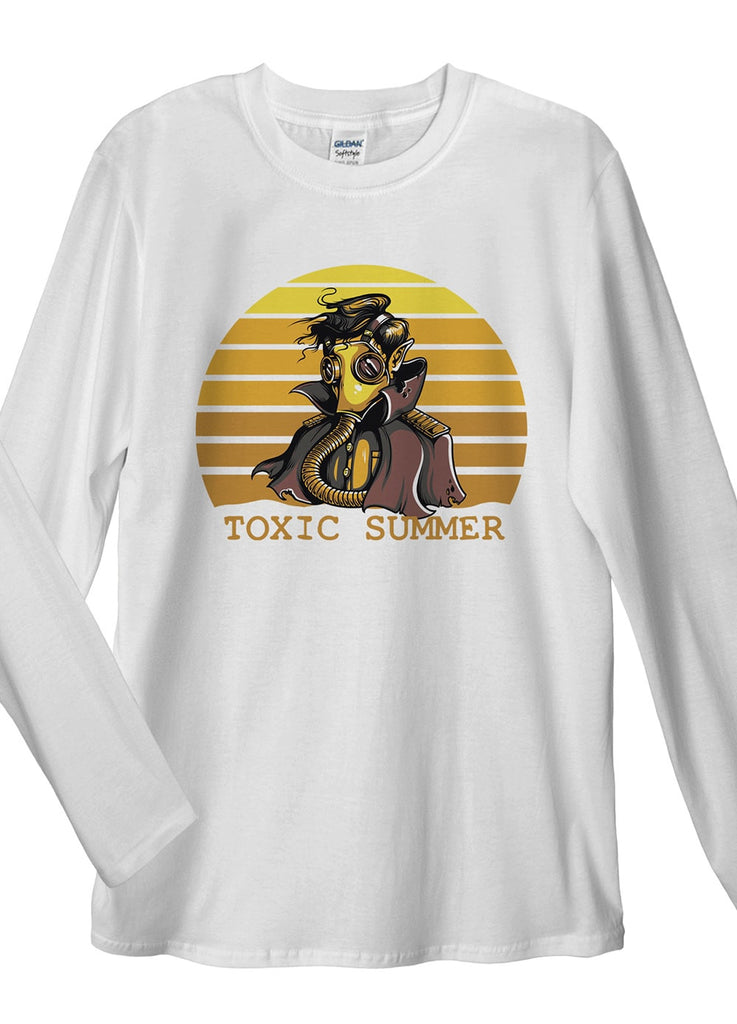 Toxic Summer Long Sleeve T-Shirt - Idea Is Good