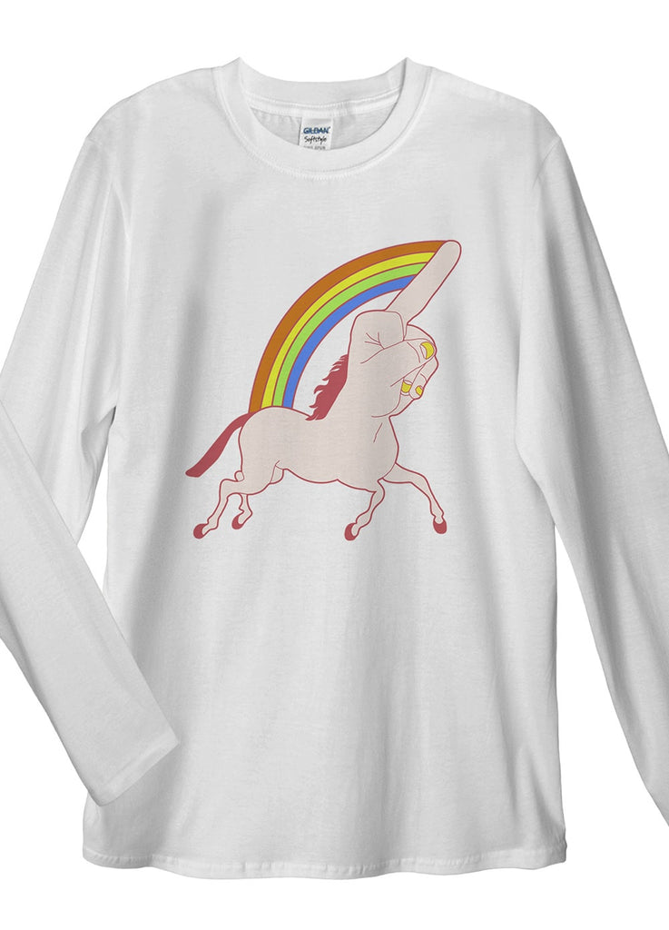 Fucking Unicorn Long Sleeve T-Shirt - Idea Is Good