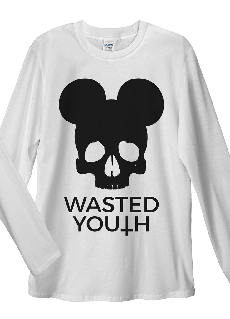 Wasted Youth Long Sleeve T-Shirt - Idea Is Good